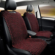 Natural Wooden Beaded Car Seat Cover Support Massage Pad Cushion Chair Durable