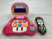 2 Vtech Babys Light-up Laptop Computer + Click And Count Remote Learning Leapfrog