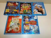Disney Blu Ray Dvds Lot Of 5 Bolt Up Pinocchio Toy Story 3 Sleeping Beauty
