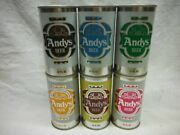 Andys 6 S/s Beer Cansaugust Schell Brg.,new Ulm,minn