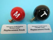 Stearman 2-lever Shakespeare Throttle Quadrant Replacement 2 Knobs Wwii Aircraft