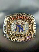 Official 1991 Columbus Clippers Championship Coach Ring New York Yankees Aaa