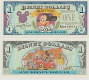 1993 A Series 1 Disney Dollar Mickey Mouse 65th Birthday Uncirculated