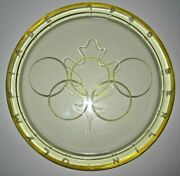 Olympic Games Germany 1936 Rare Glass Plate.