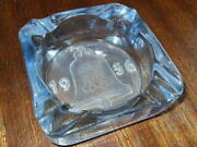 1936 Berlin Olympic Games Ashtray Blue Glass. Extreme Rare.