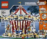 Lego 10196 Grand Carousel Brand New Mint Factory Sealed