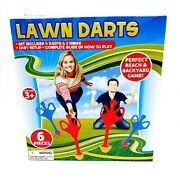 Lawn Darts Perfect Backyard Beach Game 6 Pieces Toy Outdoors New