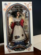 Disney Store D23 2017 Snow White Limited Edition Doll 17andrdquo Brand New