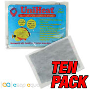 Uniheat 20 Hour Heat Pack - 10 Pack For Shipping Live Coral Fish Reptiles Plants