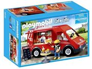 Playmobil 5632 Food Truck Van Fast Red Serving Mobile Toy Play Set