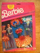 1991 Nos New Old Stock In Box Vintage Toy Doll Clothes Barbie Fashion Clothing