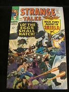 Strange Tales 145 1966 Solid Mid Grade/fnvf- Ditko/kirby Artwork Cream Pages