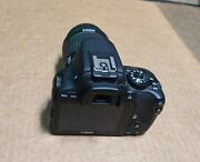 Canon Eos Rebel Sl1 18.0mp Digital Slr Camera - Black With 18-55mm And 55-250mm