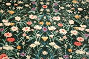 Mint Authentic American Karastan Wild Flowers Rug 5and0399 X 9and039 Pattern 509-9751