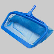 Pool Leaf Rake Mesh Frame Net Skimmer Deep Bag Swimming Pool Spa Pond Tool