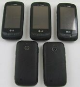 5 Lg Vn270 Cosmos Touch Verizon Cell Phones Lot Qwerty
