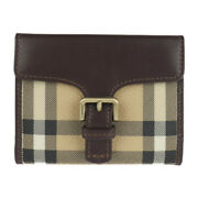 Coin Purse 11607266 Pvc Leather Beige Coin Pocket With Card Slot