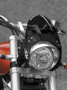 National Cycle N2555-002 44-51 Mm Flyscreen For V-twin Black/darksmoke Straight