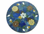 24and039and039 Marble Table Top Center Coffee Home Decor Inlay Pietra Dura Antique A21
