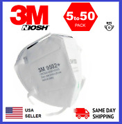 3m 9502+ N95 Niosh Protective Disposable Face Mask Cover Respirator 5/25/50 Pack