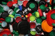 Mixed Lot Plastic Bottle Caps 800+ Crafting Coke Products Soda Tops