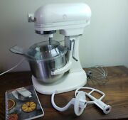 Kitchenaid K5ss Heavy Duty Series Mixer 10 Speed W/ Bowl And Attachments