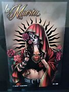 La Muerta Descent 1 Crystal Edition Signed Brian Pulido And Mike Maclean
