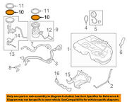 Nissan Oem 09-14 Murano 3.5l-v6 Fuel System-fuel Pump Packing 17342cc20a