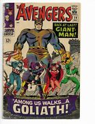 Avengers 28 - Vg- 3.5 - Captain America - 1st Collector - Scarlet Witch 1966