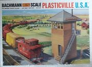 Rare New Bachmann Plasticville Usa O-s Scale - 1814 - 150 Train Switch Tower 🚋