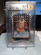 Bgs 8.5 2016-17 Select Die Cut Prizm Mosiac Auto Shaquille Oand039neal Autograph 2/10