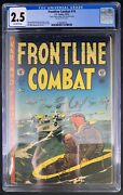 Frontline Combat 14 Cgc 2.5 10/53 3758589019 - Wally Wood Cover And Art