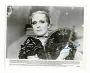 Julie Andrews Victor Victoria Beautiful Signed Authentic Autograph Photo Beckett