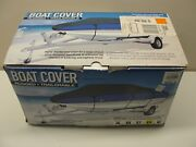 New Boat Cover Model D Fits 17and039 To 19and039l V-hull Runabouts