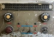 Vintage Rca Patch Bay Radio Broadcasting Era Display Piece As Is Parts Only