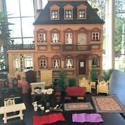 Playmobil 5300 Victorian Dollhouse Mansion Play Set Super Clean Doll Home House