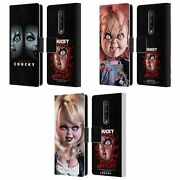 Official Bride Of Chucky Key Art Leather Book Wallet Case For Blackberry Oneplus