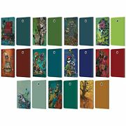 Official David Lozeau Colourful Art Leather Book Case For Samsung Galaxy Tablets