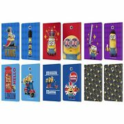 Minions Minion British Invasion Leather Book Case For Samsung Galaxy Tablets