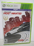 Need For Speed Most Wanted Microsoft Xbox 360, 2005 Brand New Sealed Box