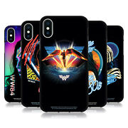 Official Wonder Woman 1984 80and039s Graphics Black Gel Case For Apple Iphone Phones