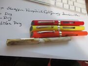 4 Vintage Fountain Pens, 3 Need Service Sheaffer Viewpoint 3 Stafdtler 1