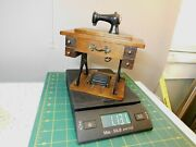 Vtg. Sewing Machine Music Box W/60's Beatles Song Yesterday By George Good Corp