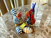 Paper Mache Chickens With Eggs By Artisian Rosa Hernandez Peru Mx