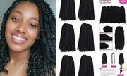 12 Inch Spring Twist Crochet Hair 6 Packs Jamaican Bounce 12 Inch 6packs 1