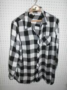 Terra And Sky Womenand039s Plus Size Long Sleeve Checkered Button Down Shirt Sz 1x