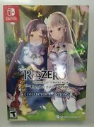 Rezero Starting Life In Another World The Prophecy Of The Throne Collector's New