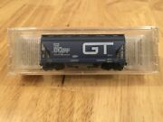 Micro Trains 92010 Grand Trunk Western N Scale Acf Centerflow Covered Hopper