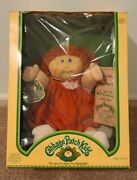 Coleco 3900 1983 Cabbage Patch Red Hair Doll- Brand New In Original Box Rare