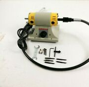Used - Electric Wood Working Carving Tools Chisel Carving Kit With 5 Blade 220v